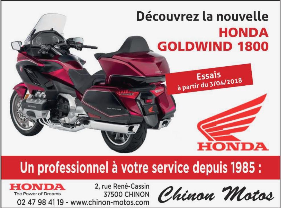 Chinon Motos Concessionnaire Honda Vente De Quads Cyclos