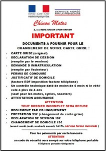CARTE GRISE DEMANDE PHOTO